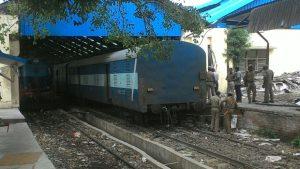 train heist Chennai EPS