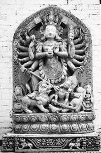 durga_idol_at_kathmandu